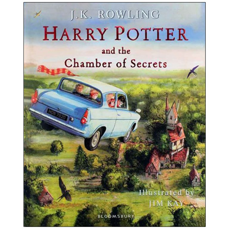 Harry Potter and the Chamber of Secrets Illustrated Edition Book 2 (مصور)