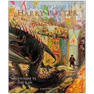 harry-potter-and-the-goblet-of-fire,کتاب هریپاتر و جام آتش تصویری