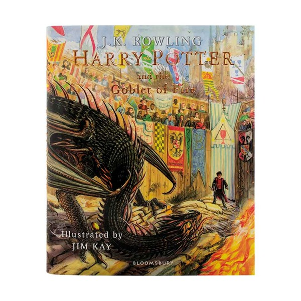 Harry Potter Illustrated Collection Hardcover (4 جلدی مصور)