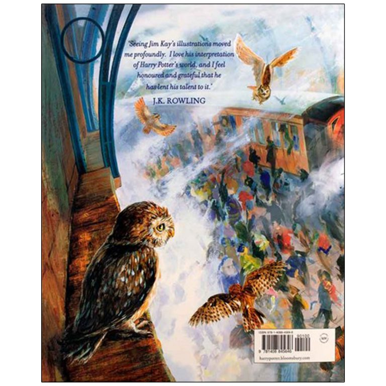 Harry Potter and the Philosophers Stone Illustrated Edition Book 1 (مصور)