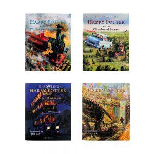سری کتابهای تصویری هری پاتر