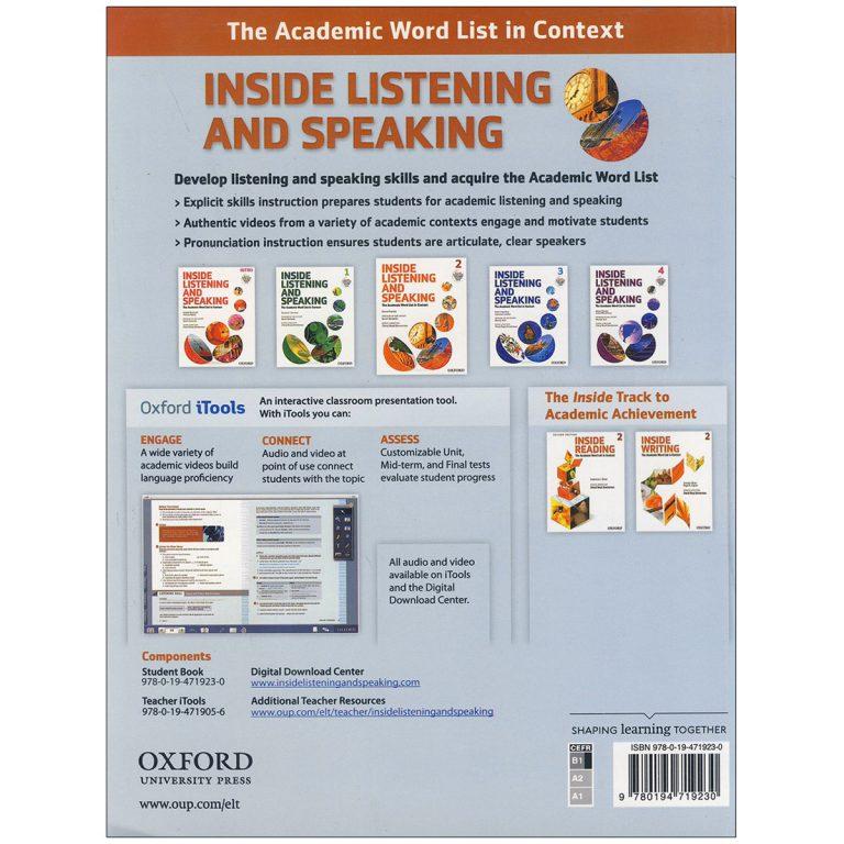 Inside Listening and Speaking 2