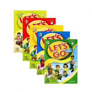 سری کتاب های آموزش زبان انگلیسی لتس گو کتاب Let's go