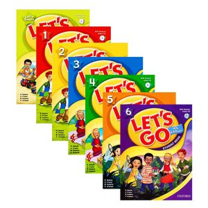 سری کتاب های زبان لتس گو,مجموعه آموزش زبان انگلیسی let's go