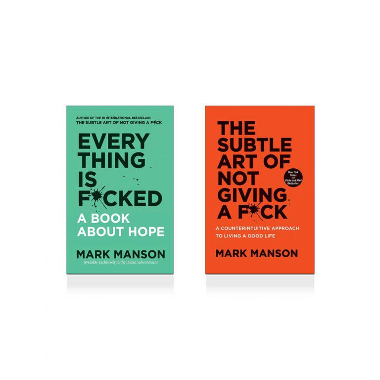 Mark Manson Collection 2 Books Set (The Subtle Art of Not Giving a Fuck, Everything Is Fucked)