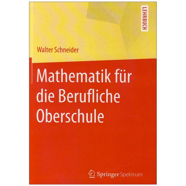 Mathematik Fur Die Berufliche Oberschule