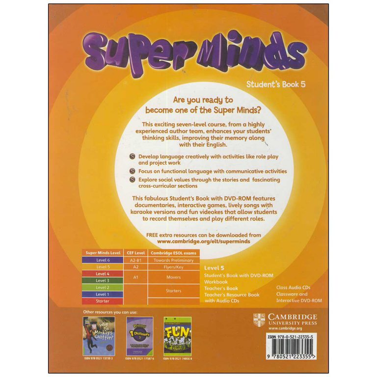 Super Minds 5