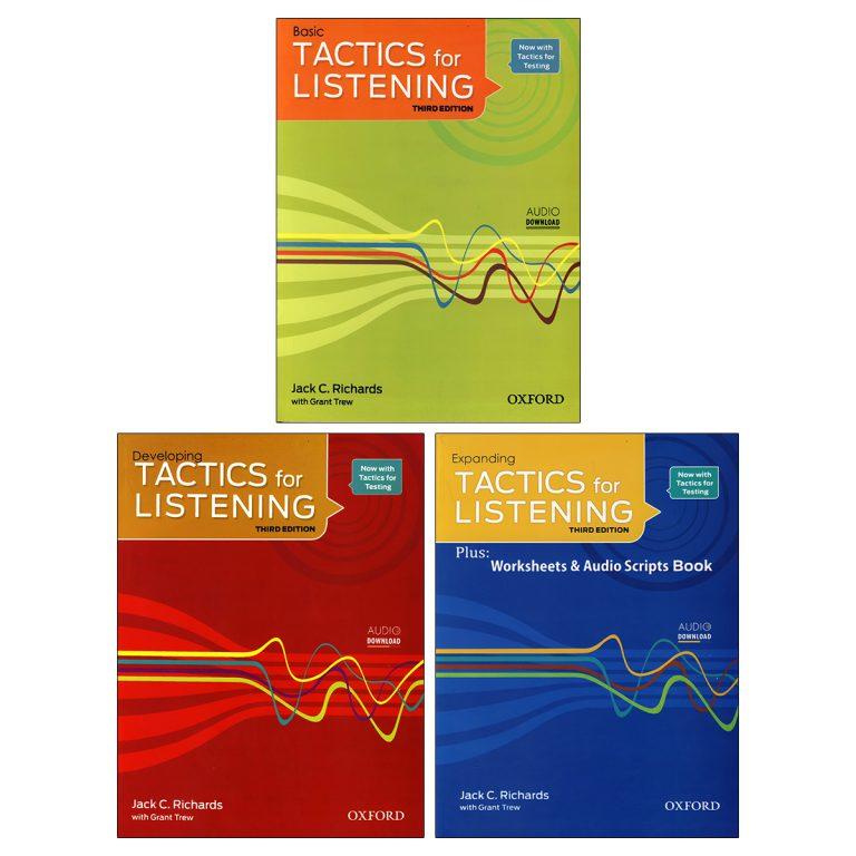 Tactics for Listening Book Series