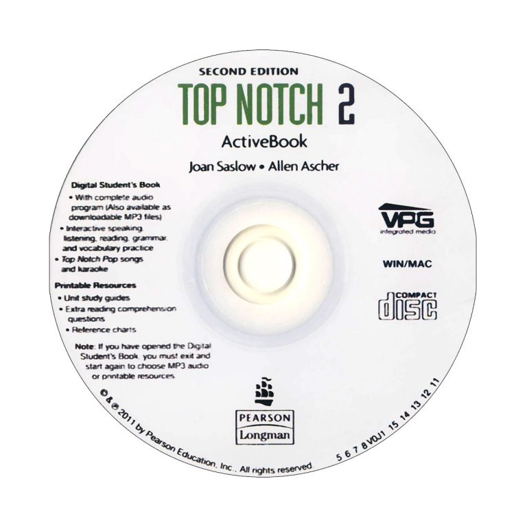 Top Notch 2A Second Edition