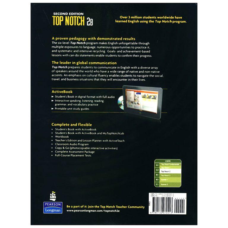 Top Notch 2B Second Edition