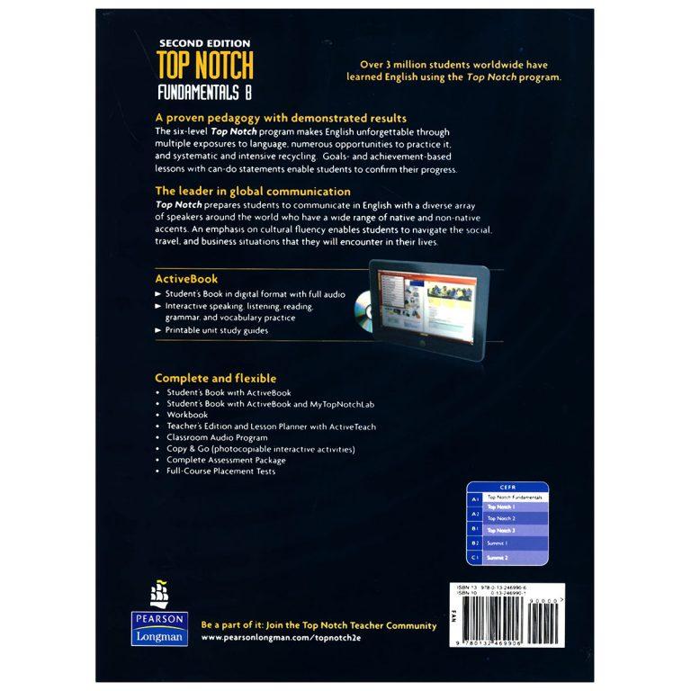 Top Notch Fundamentals B Second Edition