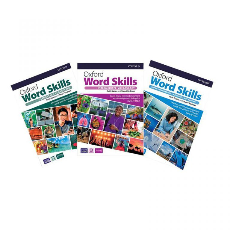 Oxford Word Skills Second Edition Book Series